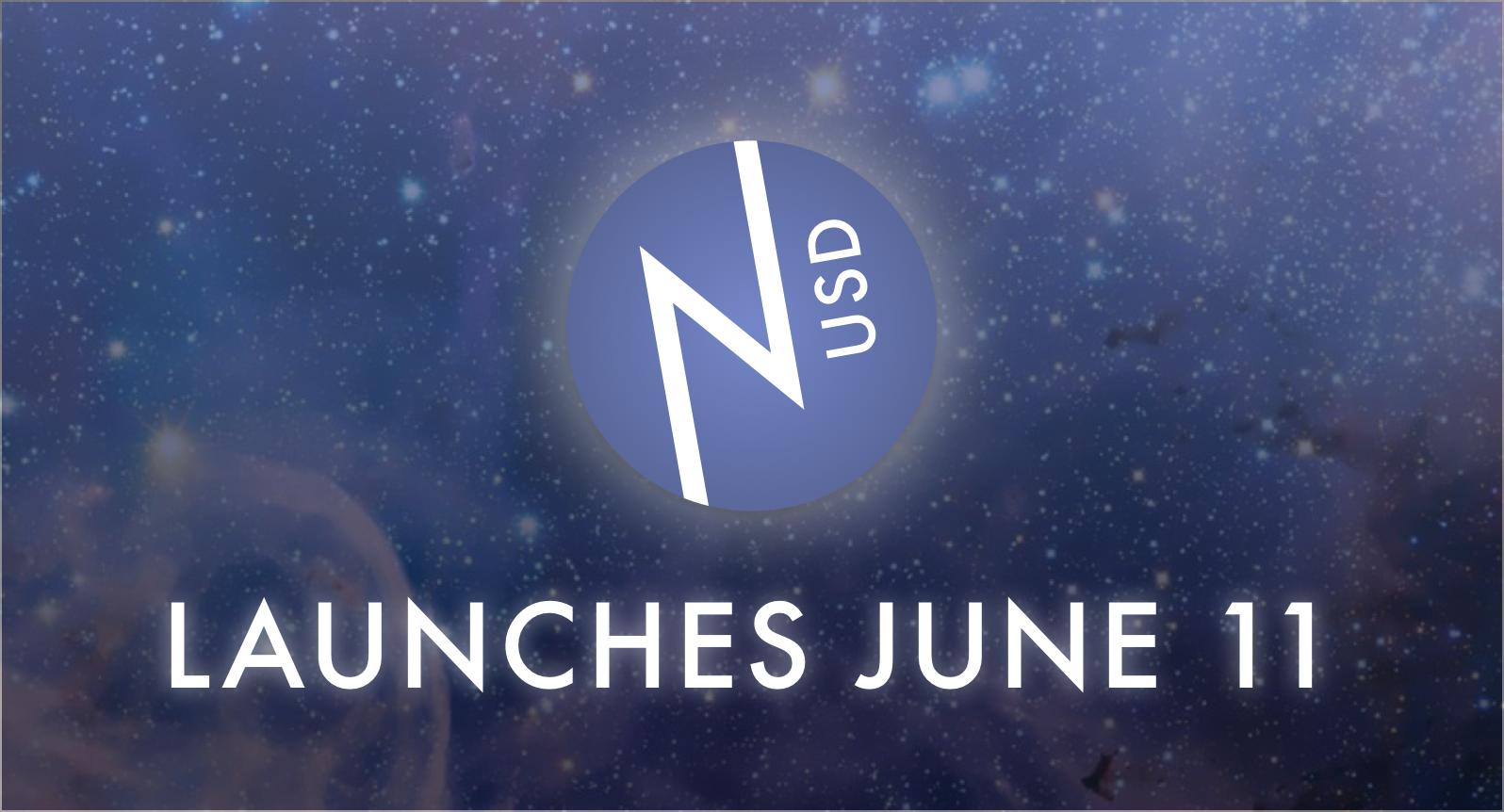 nUSD launches June 11!