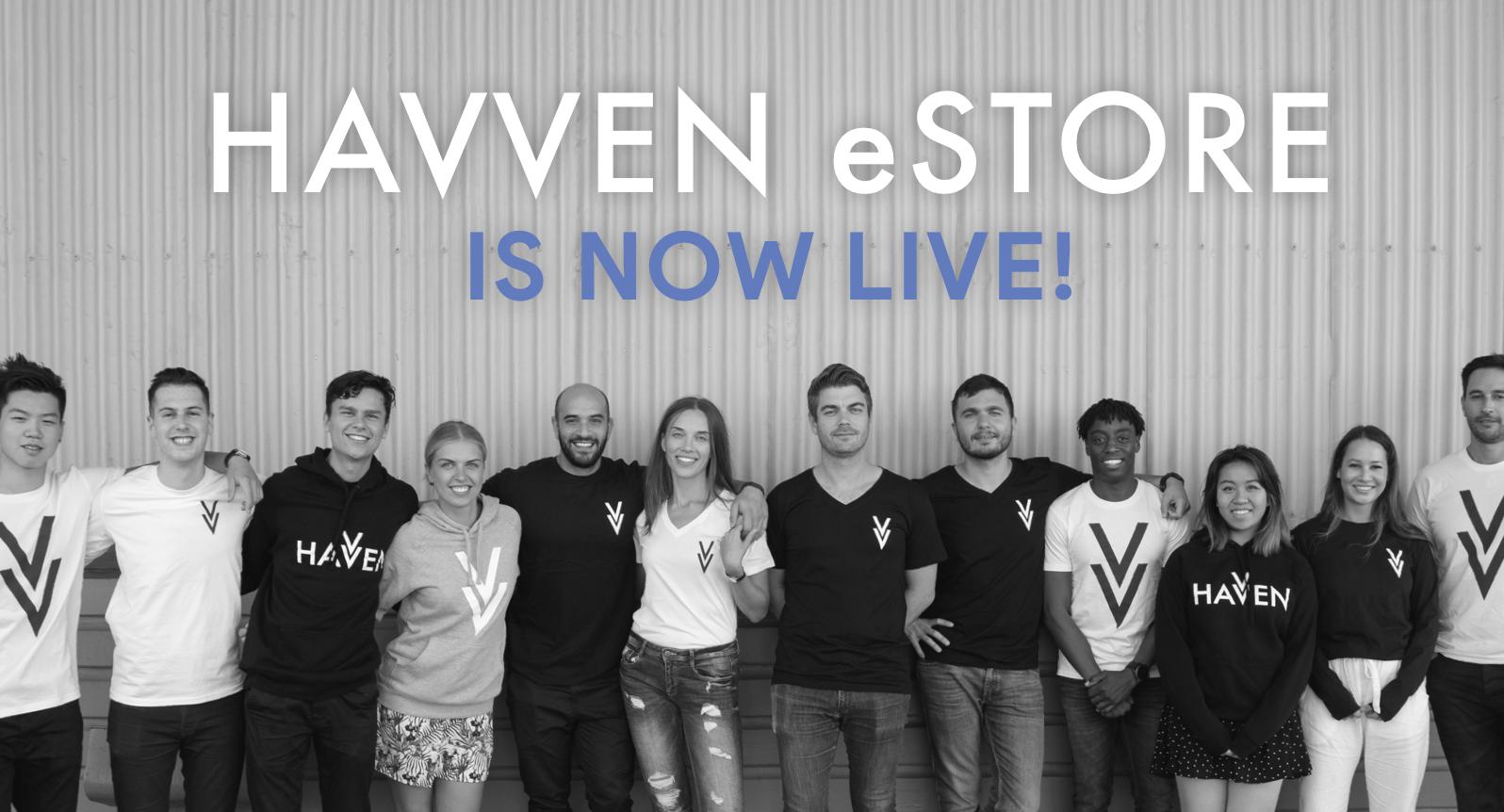 The Havven eStore is now live!