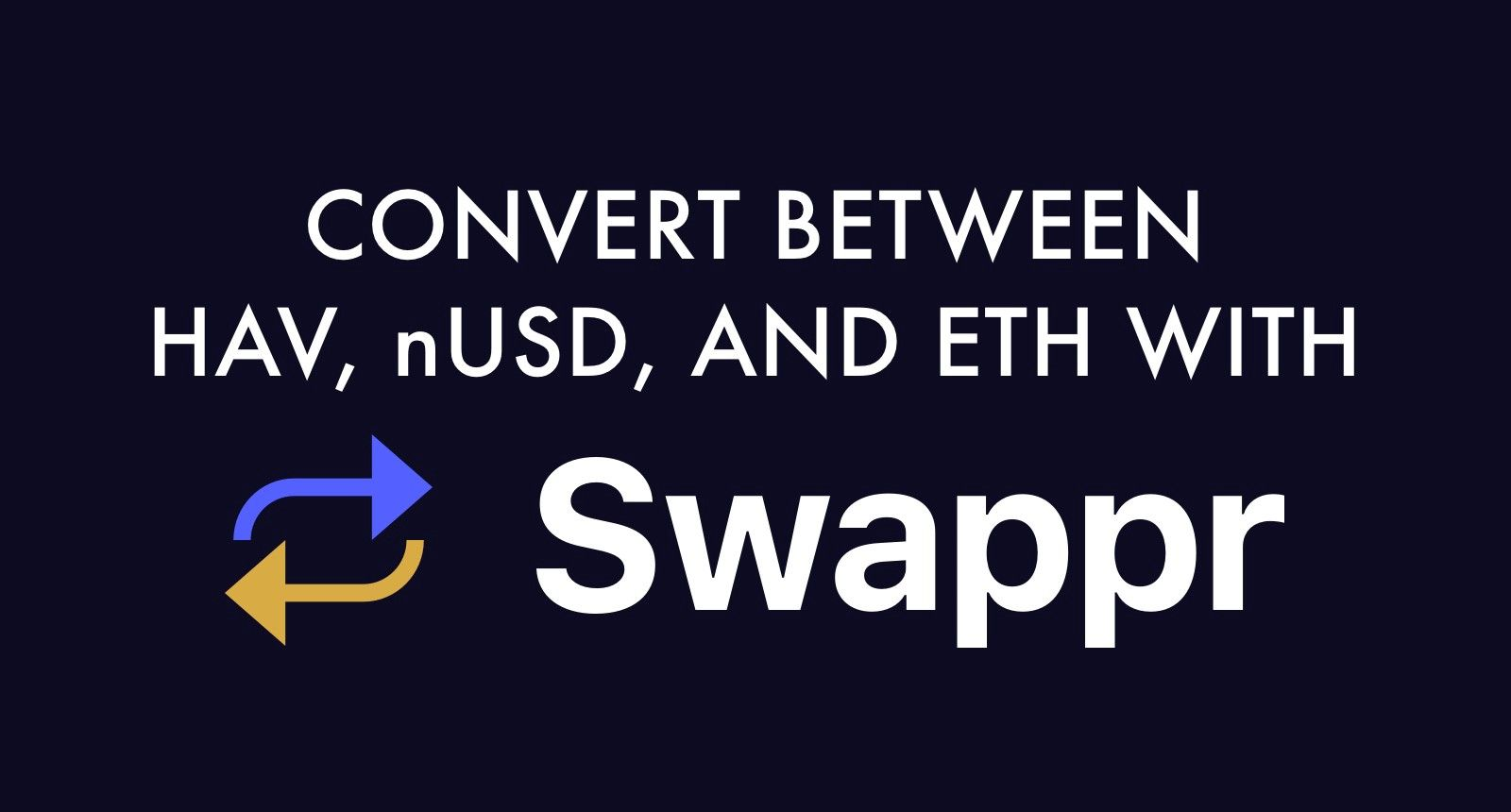 Announcing Swappr