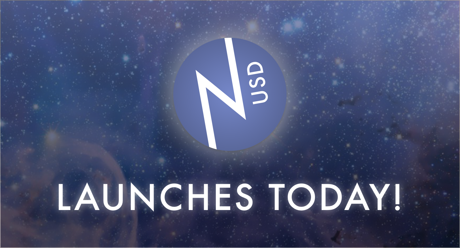 nUSD launches today!