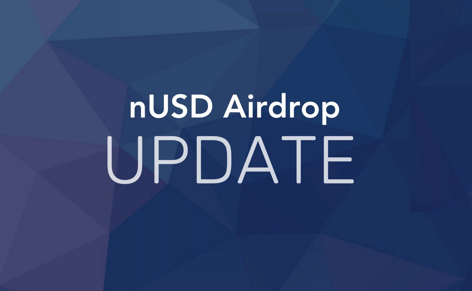 Update: nUSD Airdrop Distribution