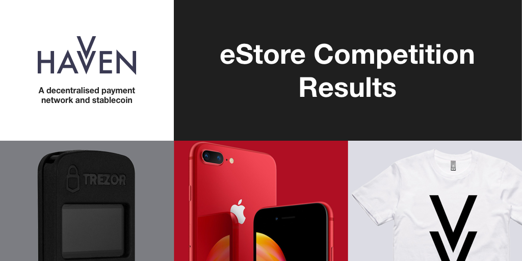 eStore Competition Winners