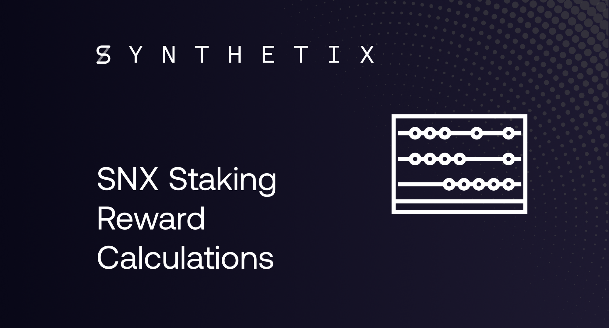 SNX Staking Reward Calculations