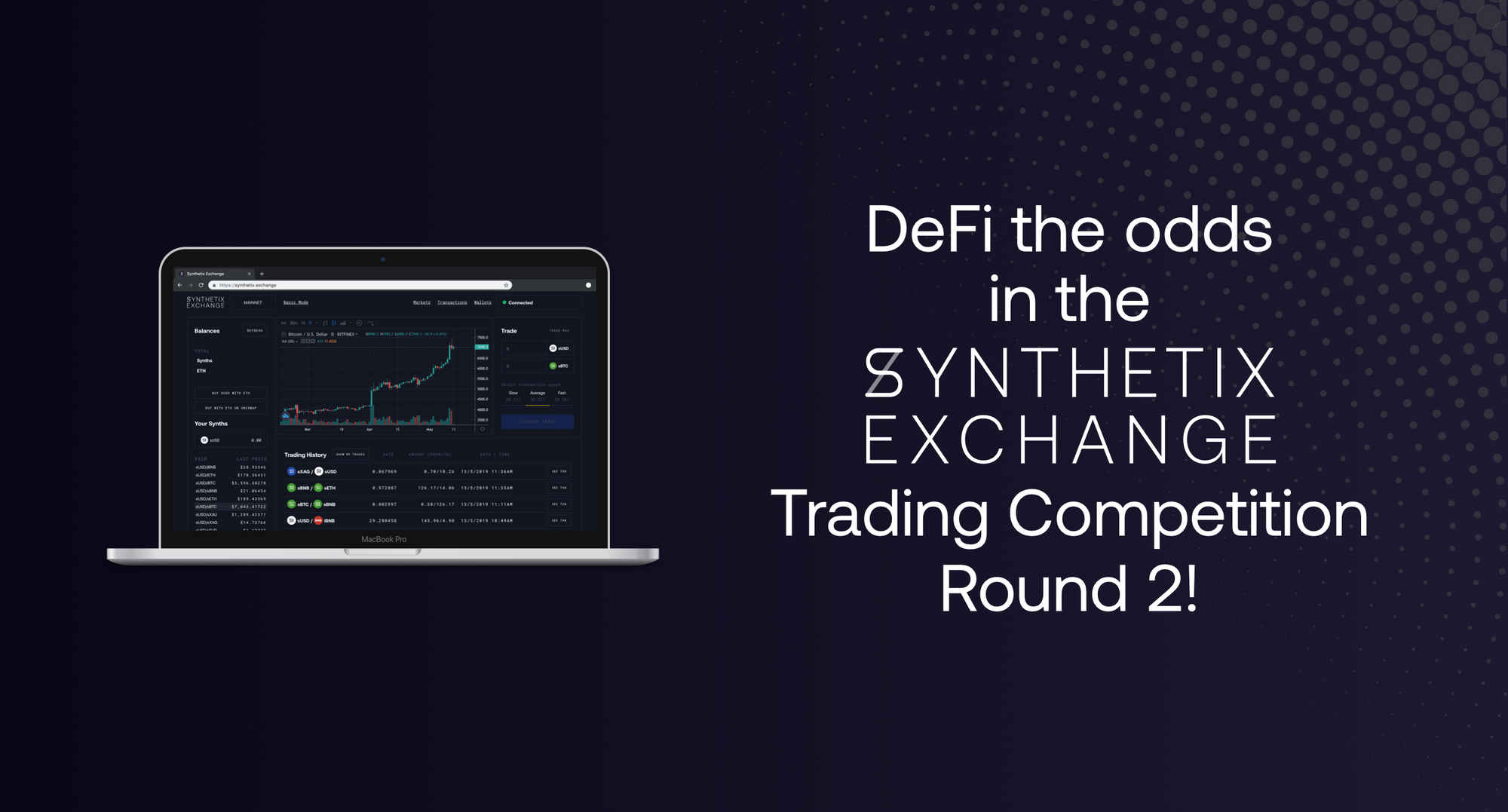 Synthetix.Exchange Trading Competition Round 2