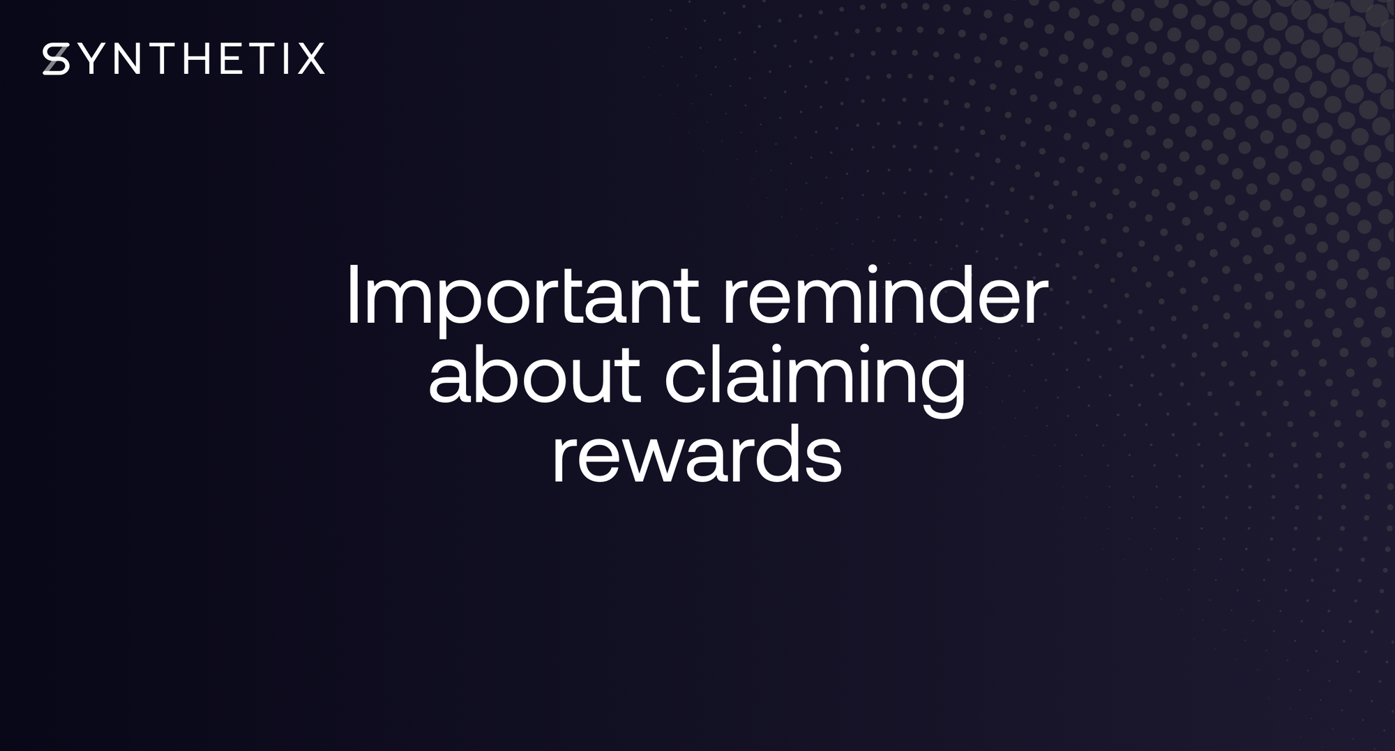 Reminder: Claim rewards by this Thursday (AEDT) or you'll forfeit any rewards earned before June 12