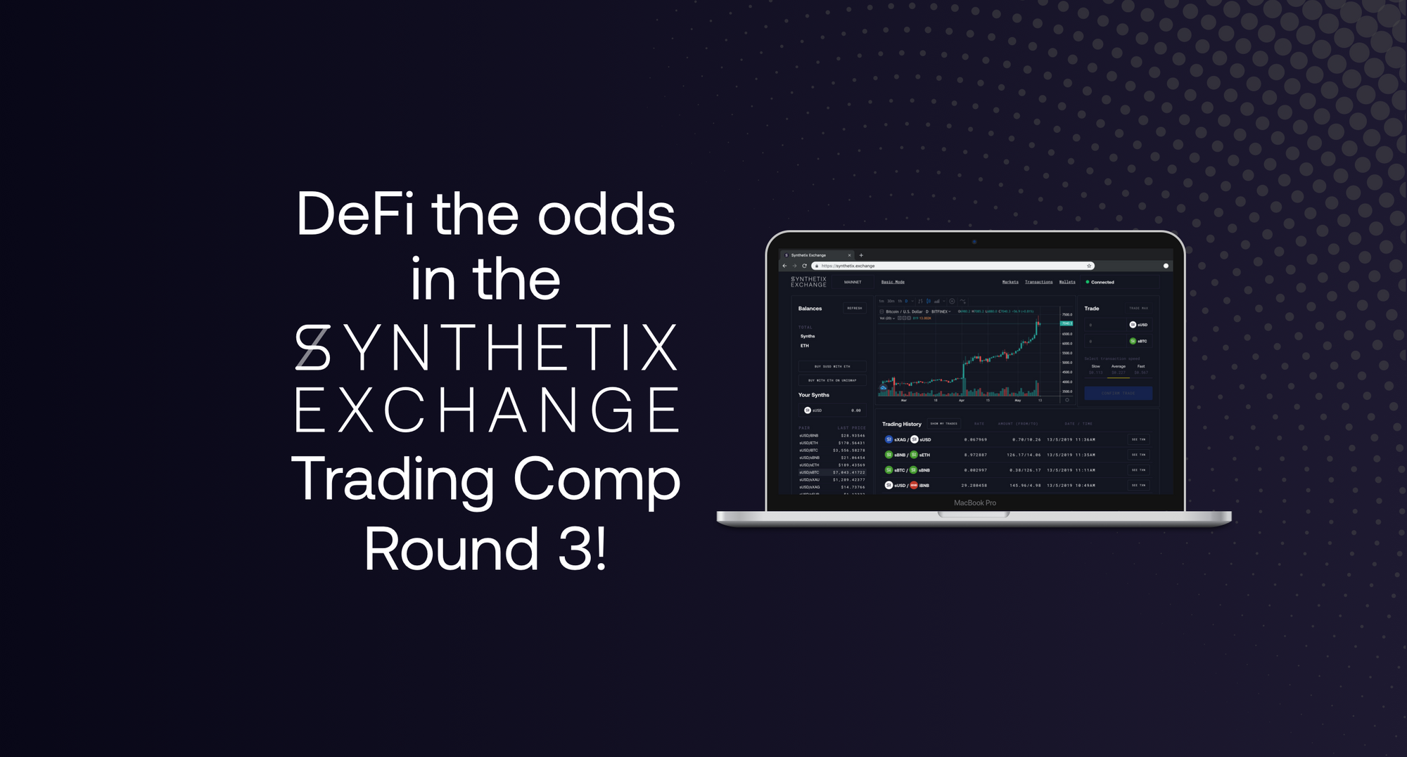 Synthetix.Exchange Trading Competition Round 3