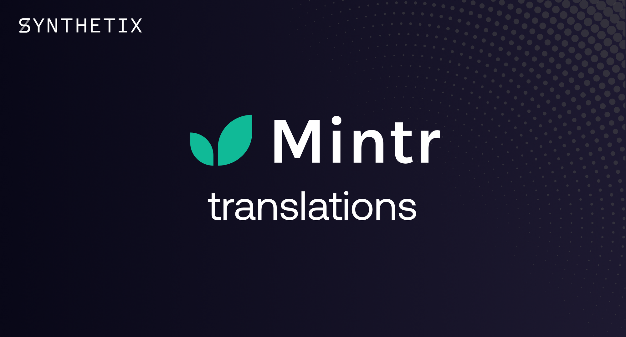Come help us translate Mintr!