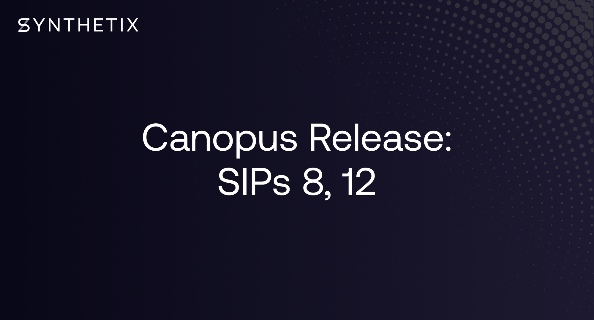 The Canopus Release
