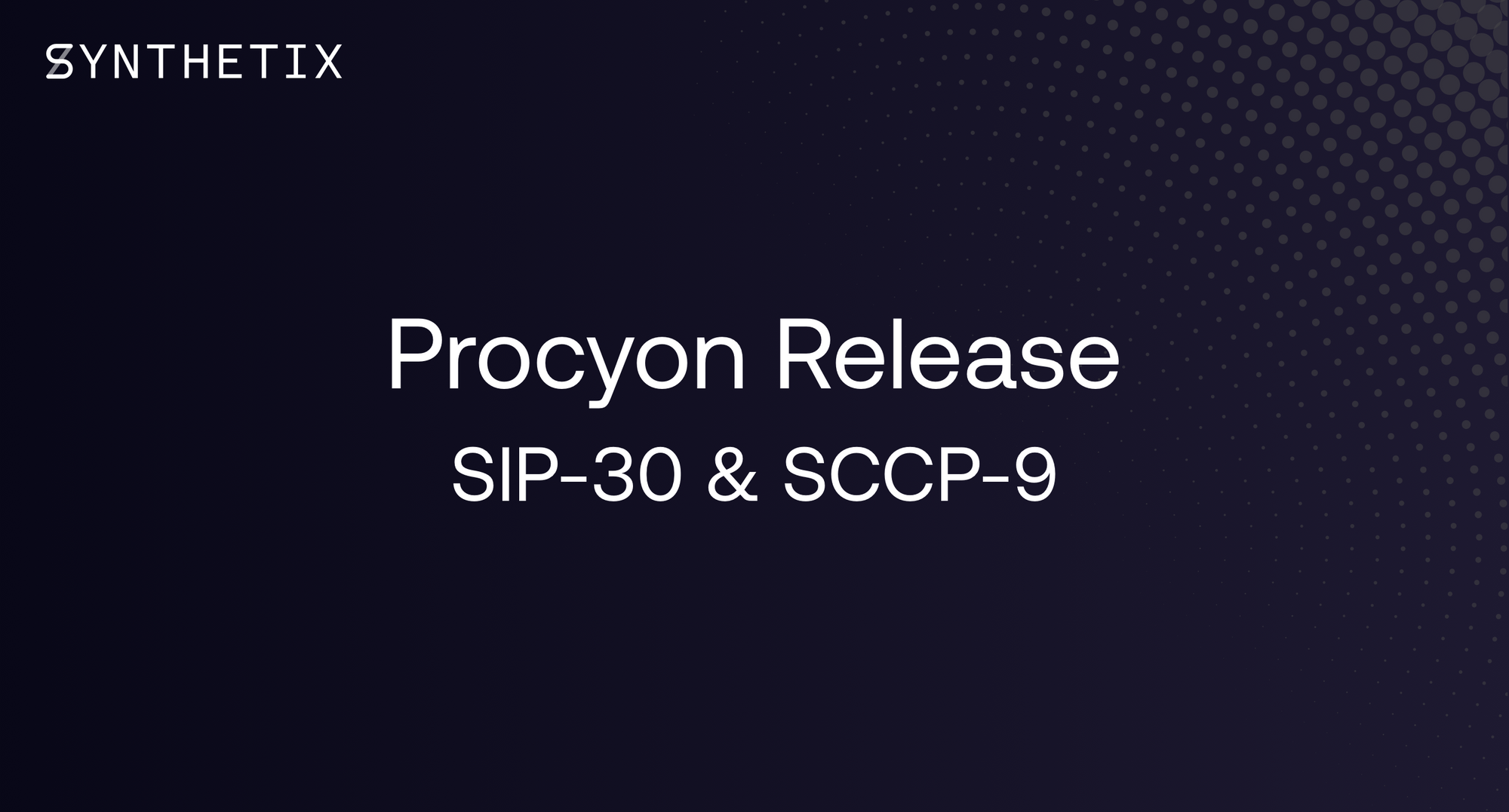 The Procyon Release