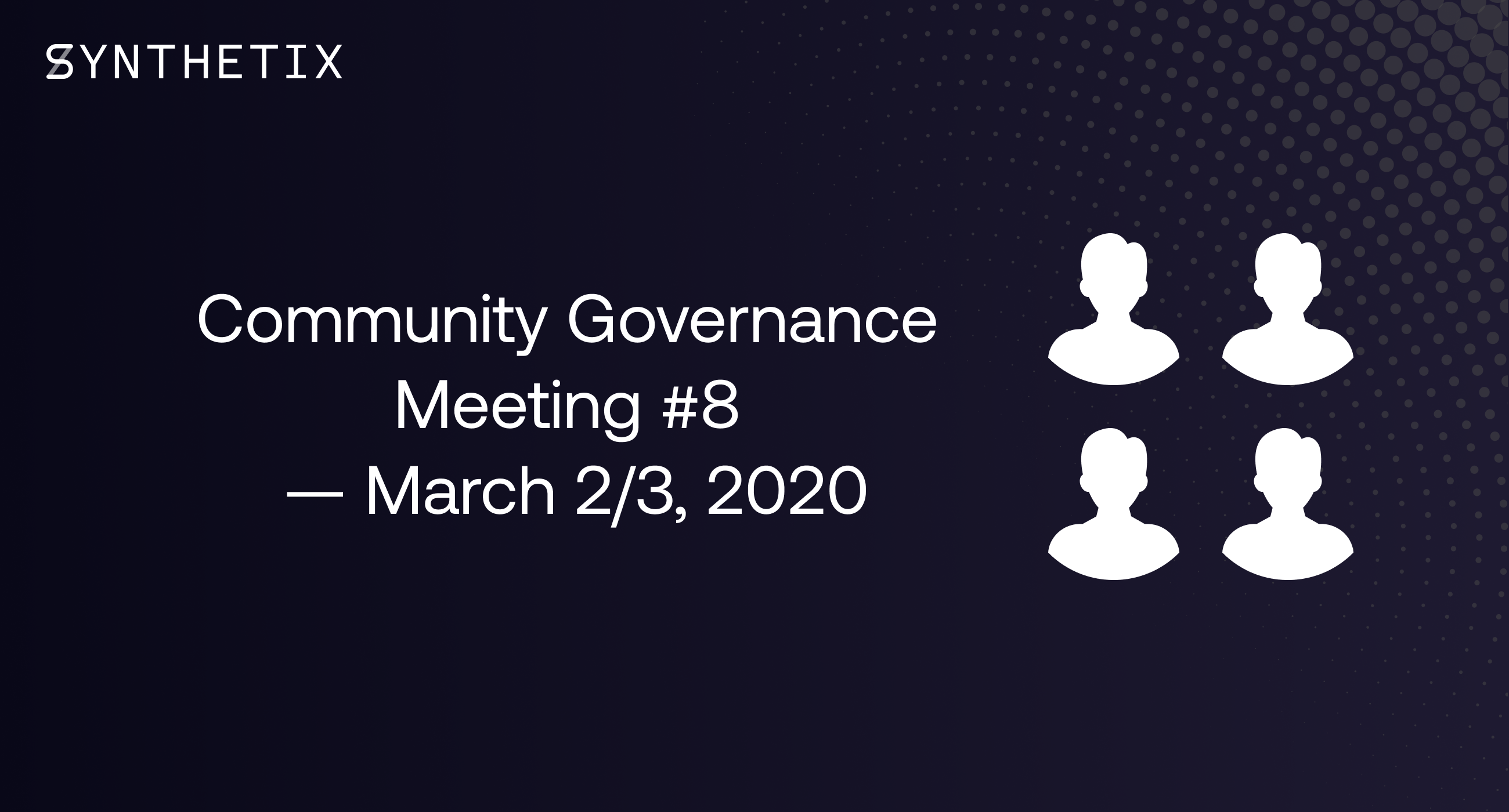 Join us on March 2/3 for the next community governance call!