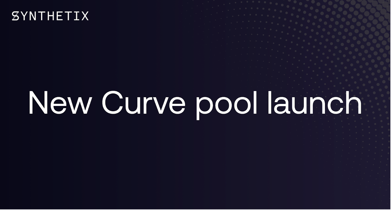 New Curve Pool Launch