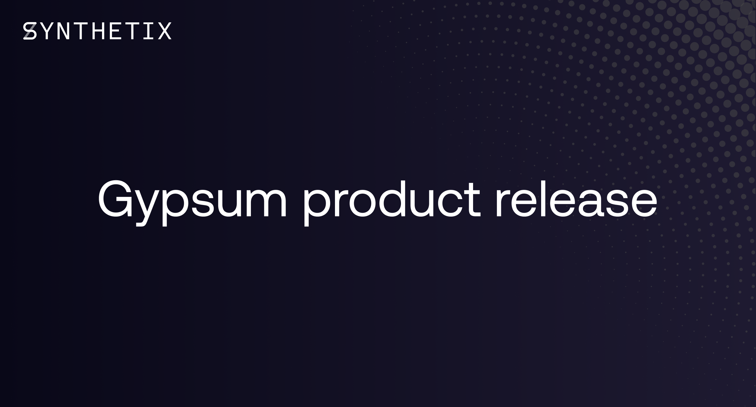 Gypsum Product Release