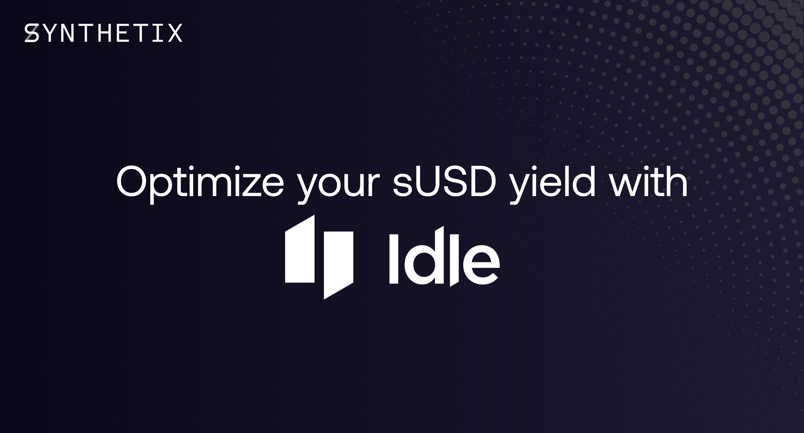 Optimize your sUSD yield with Idle