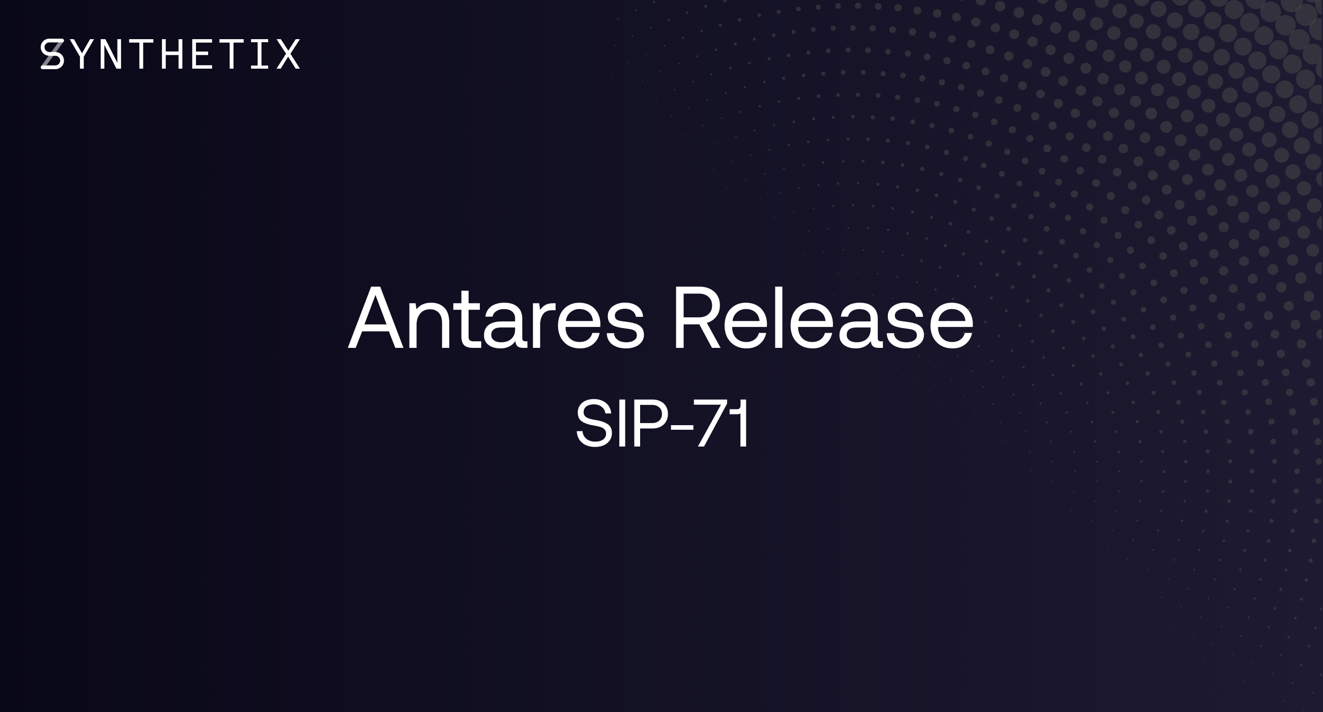 The Antares release