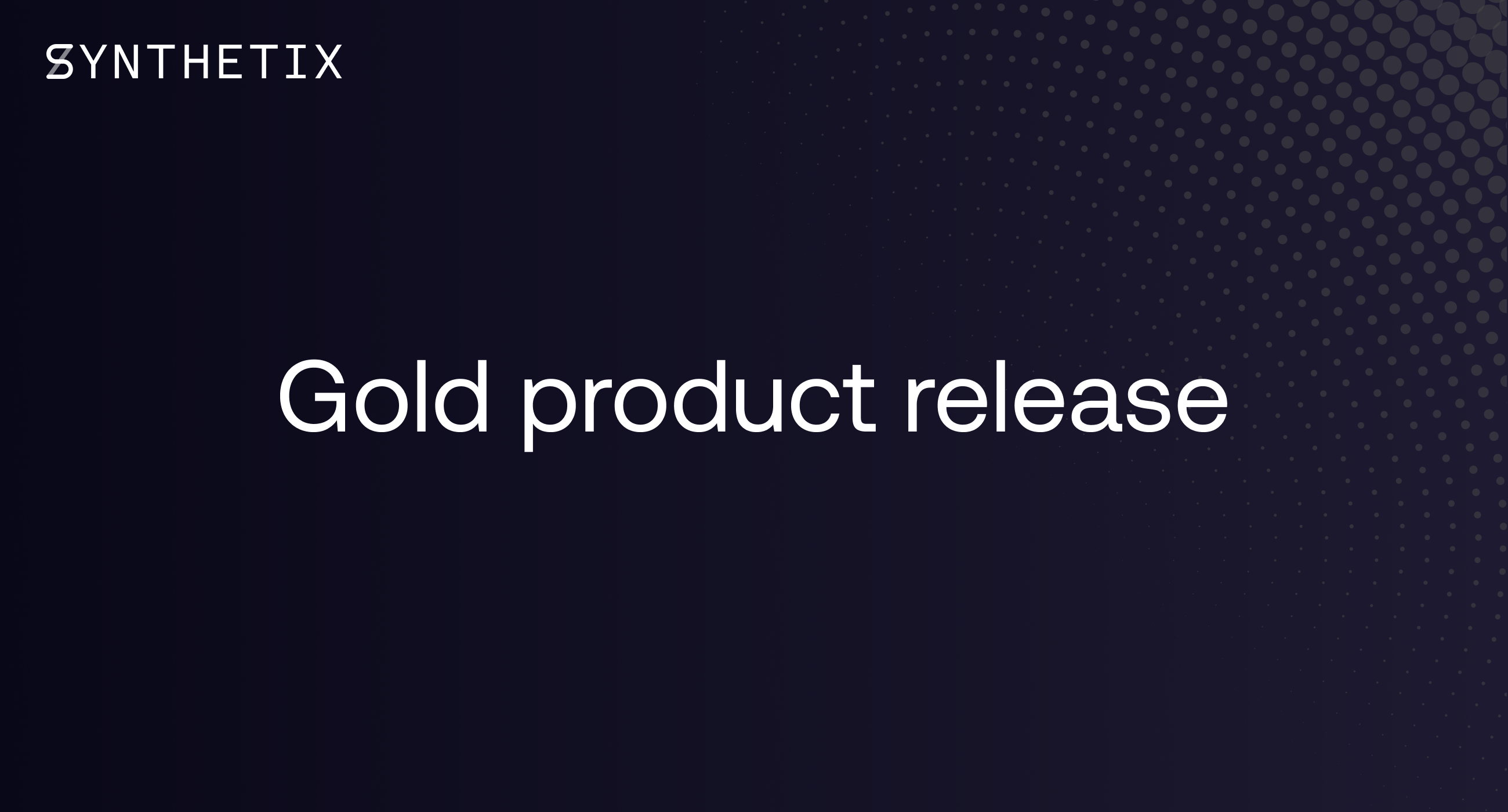 Gold product release