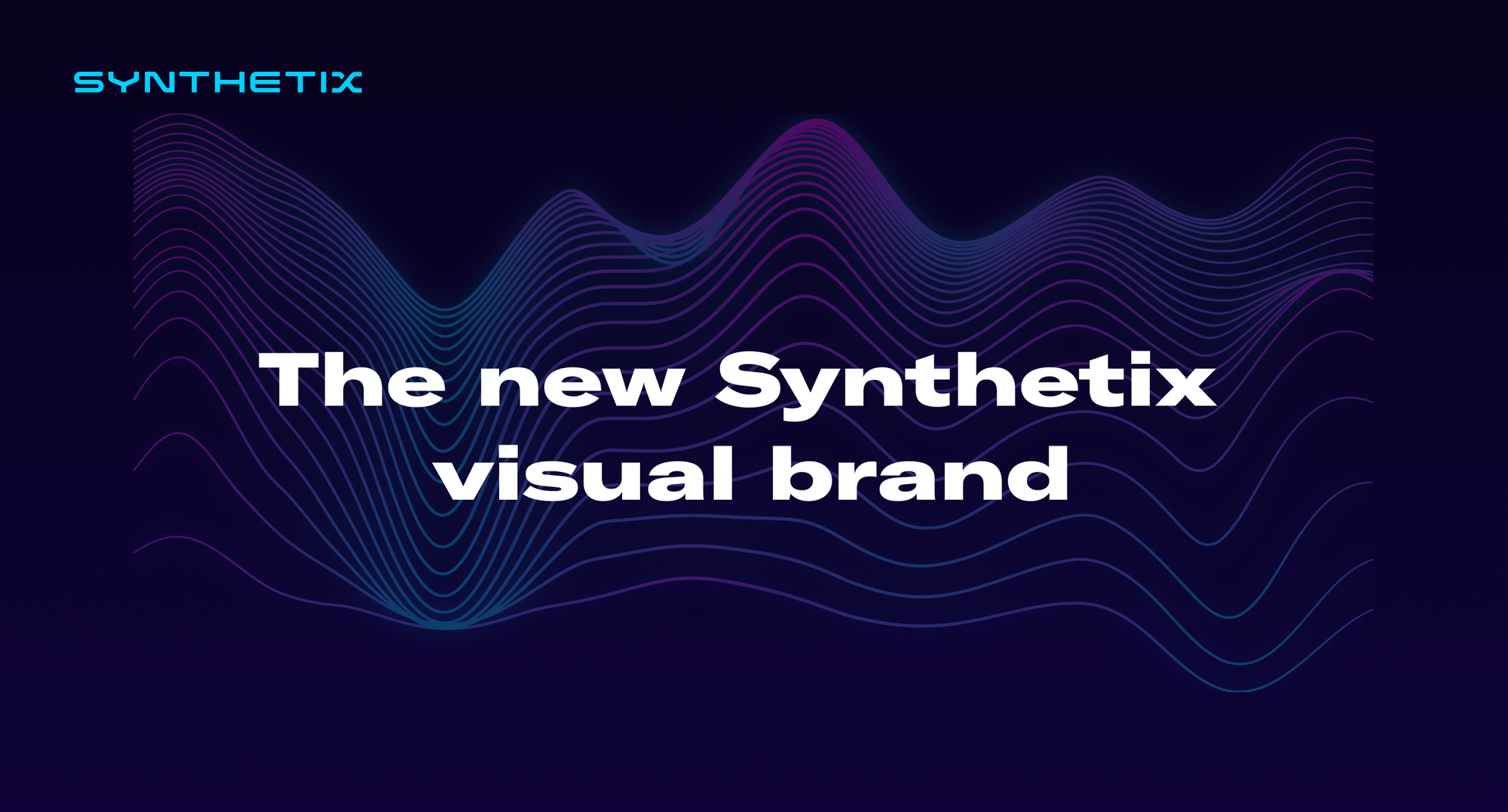 Introducing the new Synthetix visual brand