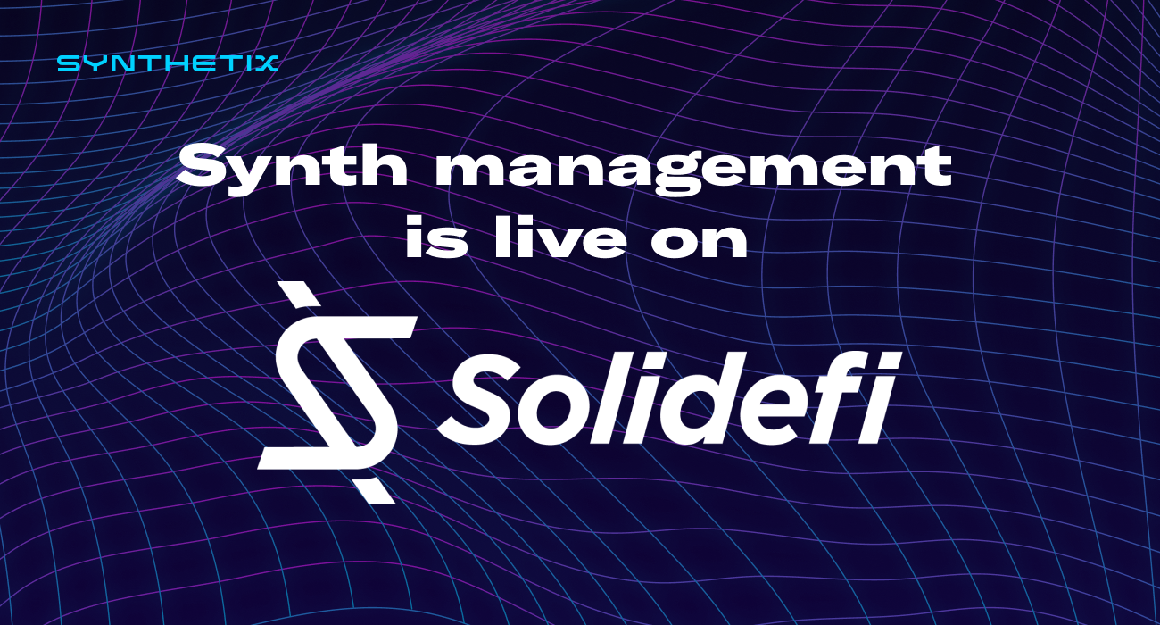 Solidefi joins the Volume Program