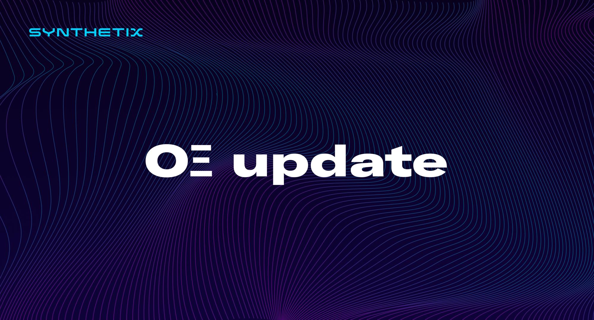 OΞ update