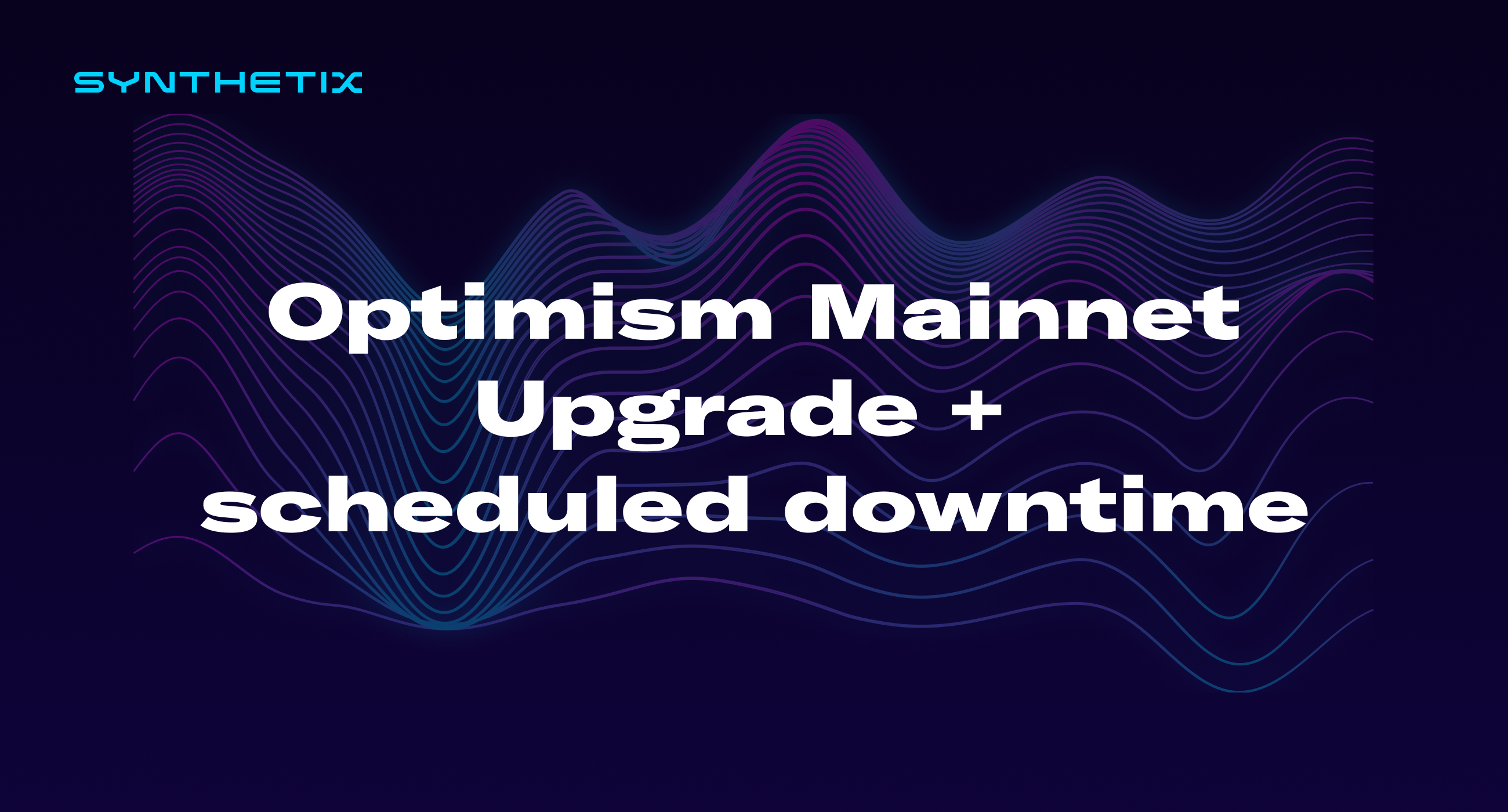 Optimism Mainnet Upgrade: Scheduled Downtime and Regenesis