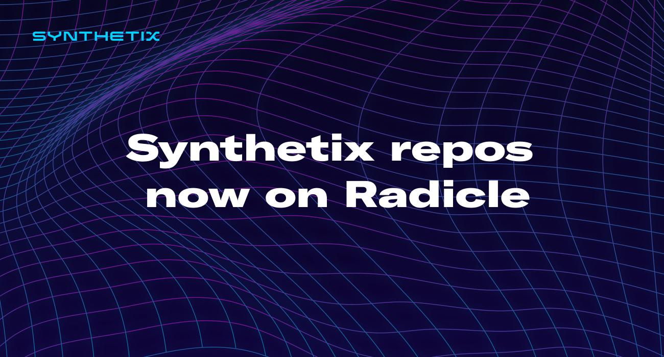 Repository Mirroring on Radicle