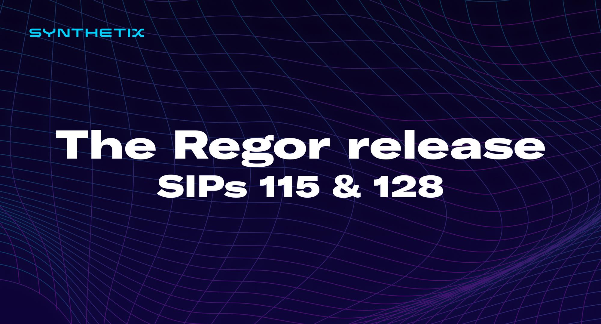 The Regor release