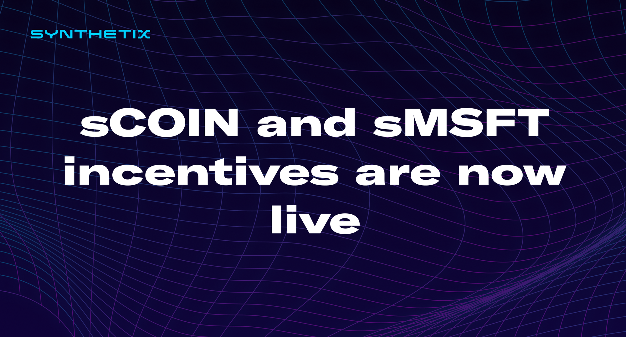 sCOIN & sMSFT pool incentives are now live on Balancer!
