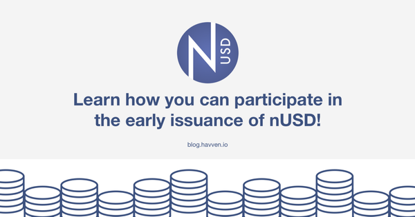 Early issuance of nUSD