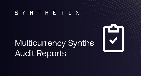 Audit: no security vulnerabilities found in Multicurrency Synth contracts
